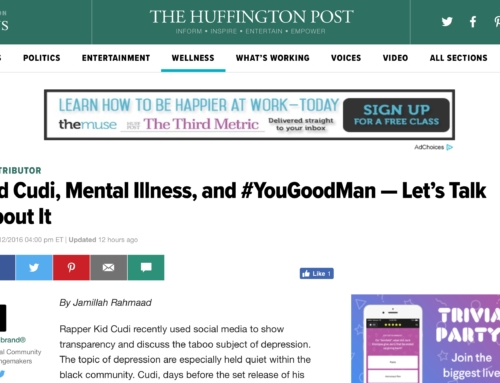 Nick F. Nelson Discusses Kid Cudi and Mental Illness w / The Huffington Post